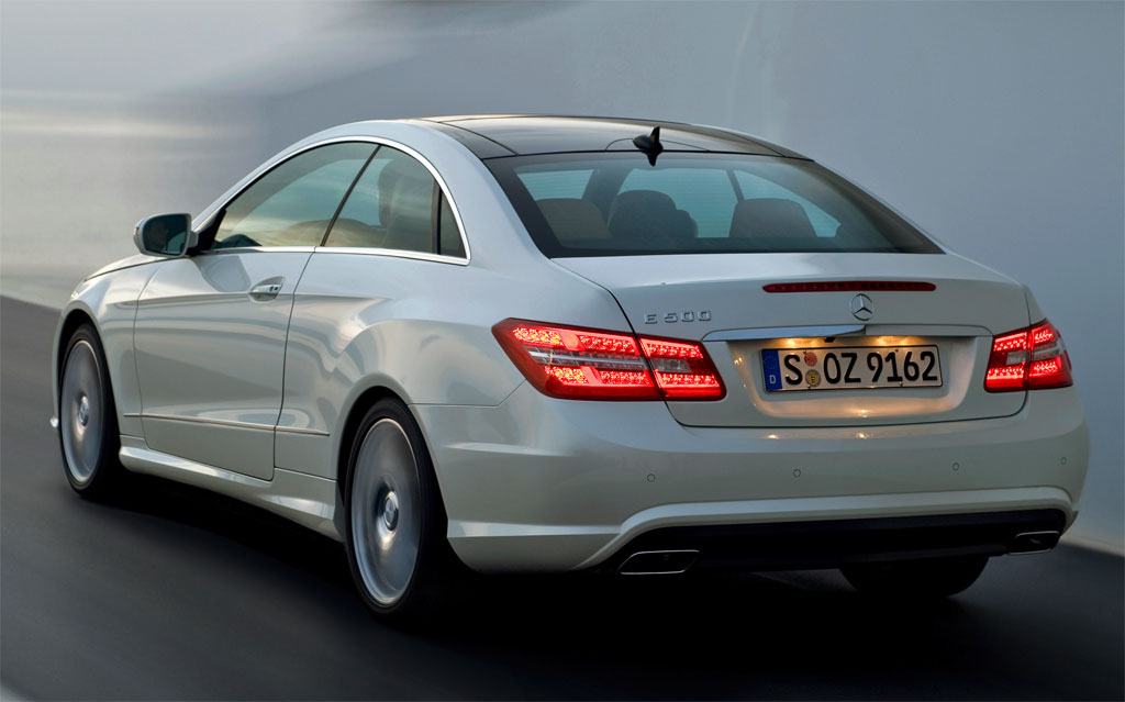 Mercedes CLK Replaced With E-Class Coupe