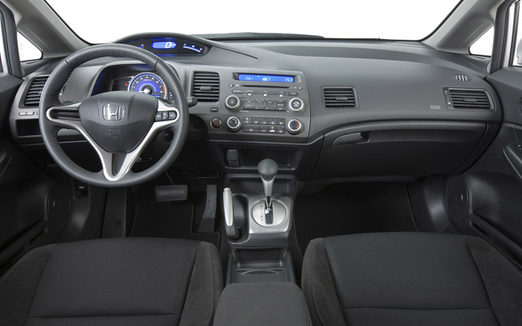 Honda Civic 2011 Coupe Inside