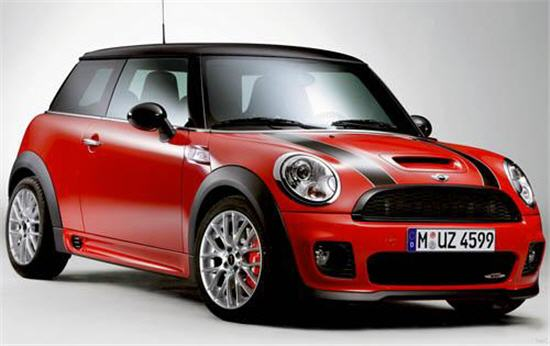 Bmw mini e the coolest electric car for Mercedes benz morristown service department