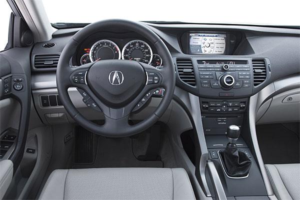 2010 Acura TSX V-6 Interior
