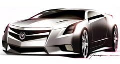 2008 Cadillac CTS Coupe Concept sketch
