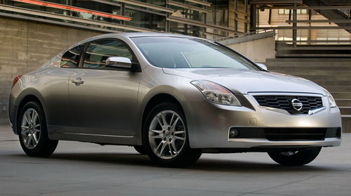 2008 nissan altima coupe best affordable tech car
