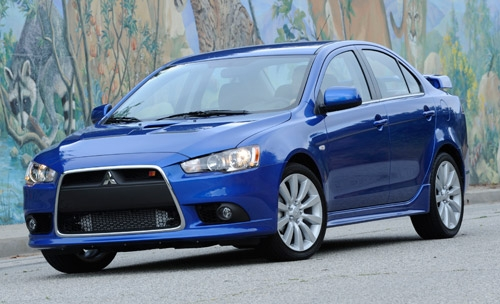 mitsubishi lancer ralliart best new cars of 2009