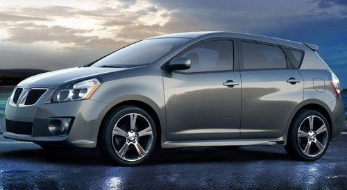 pontiac vibe best new cars of 2009