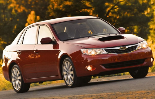 subaru impreza best new cars of 2009