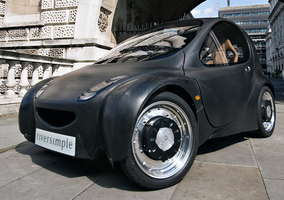 Riversimple Fuel Cell Car