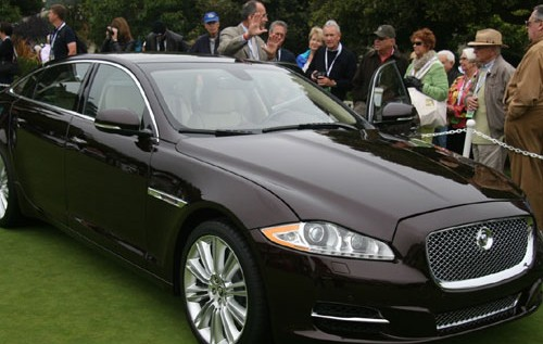 Monterey 2009 has its 2010 Jaguar XJ Debuted