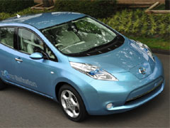 Leaf Electric Car