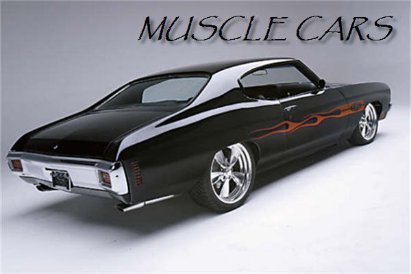 Greatest Muscle Cars Of All Time