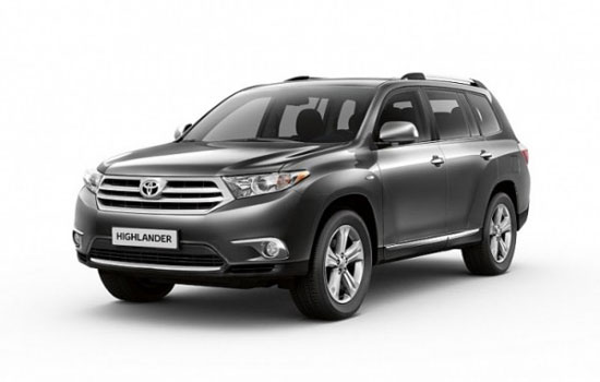 Toyota Unveiled Prices for 2012 Highlander and FJ Cruisers ...