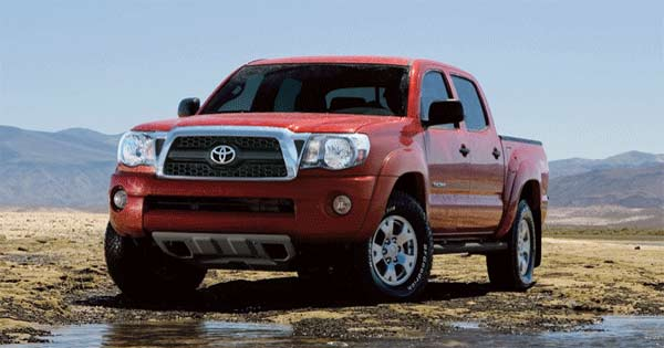 Available Cab Types Of 2017 Tacoma Pickup Truck
