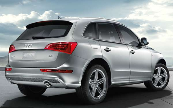 Stylish Exterior Of 2011 Audi Q5. The ...