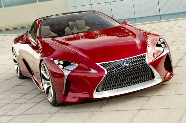 Expensive Sports Cars 2012 Lexus LF-LC Hybrid Sport Coupe