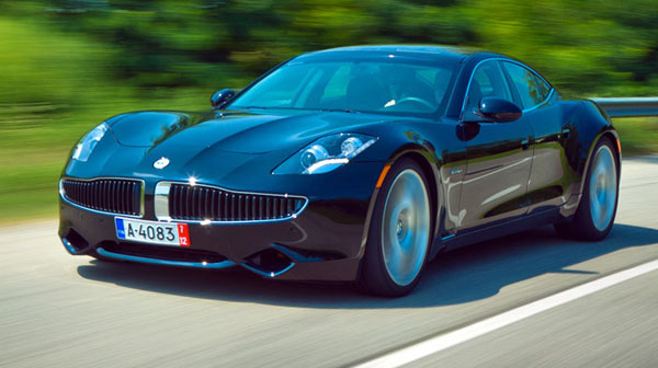 Luxury Vehicle: 2012 Fisker Karma-A Review