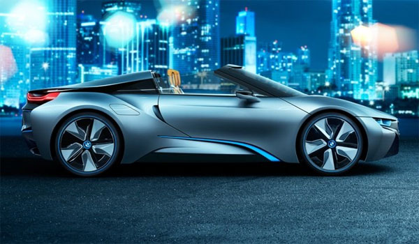bmw i8 concept spyder a review autos craze autos blog. Black Bedroom Furniture Sets. Home Design Ideas
