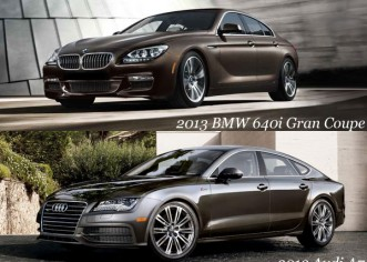 2013 BMW 640i Gran Coupe Vs 2013 Audi A7