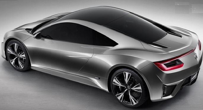 4. Acura NSX Pictures