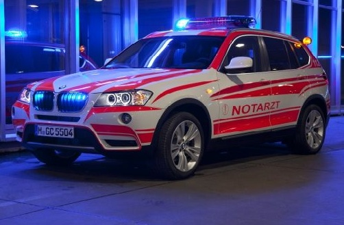 BMW Introduces Emergency Vehicle Range at RETTmobil 2013