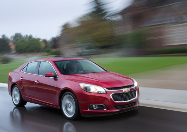 Chevrolet Introduces Latest Connectivity and Efficiency Features in 2014 Malibu