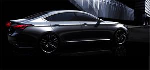 New Genesis premium sedan