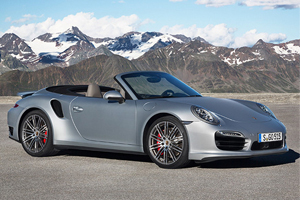 Porsche unveils a powerful - efficient and surprisingly open new Porsche 911 Turbo Cabriolet Models