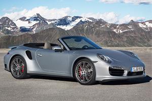 Porsche unveils a powerful, efficient and surprisingly open new Porsche 911 Turbo Cabriolet Models