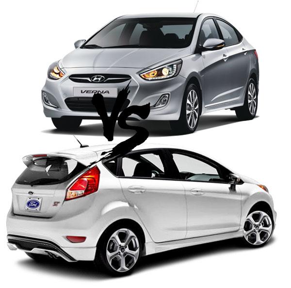 2014 Hyundai Fluidic Verna vs Ford Fiesta