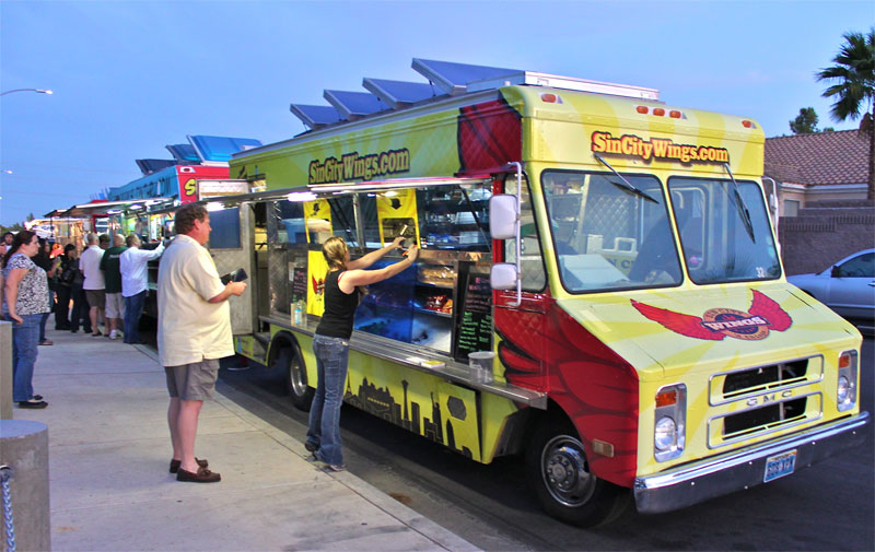 How to start a food truck business for Mercedes benz morristown service department