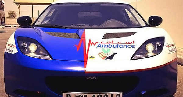Dubai Paramedics Get Lotus Evora as First Responder