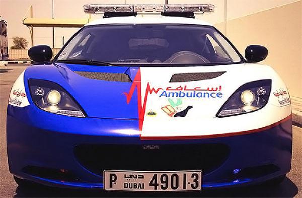 Dubai-Ambulance's-Lotus-Evora