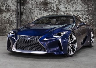Lexus Puts LF-LC Concept into a Normal Production Car