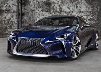 Lexus Puts LF-LC Concept into a Normal Production Car