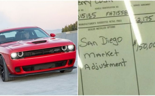 Dealers Make the Most of Dodge Challenger SRT Hellcat Demand