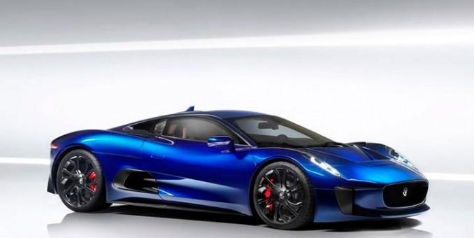 Jaguar's C-X75 Debuts Against DB10 in James Bond's Spectre