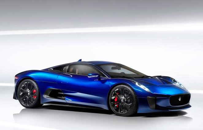 Jaguar's C-X75 Debuts Against DB10 in James Bond's Spectre