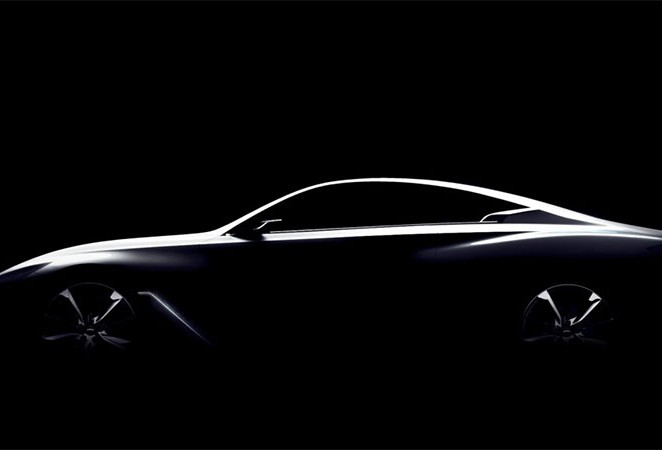 Infiniti Ready to Unveil Q60 Coupe Concept at the 2015 Detroit Auto Show