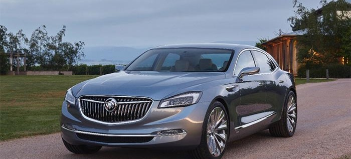 Buick Goes Nostalgic with the New Avenir Concept