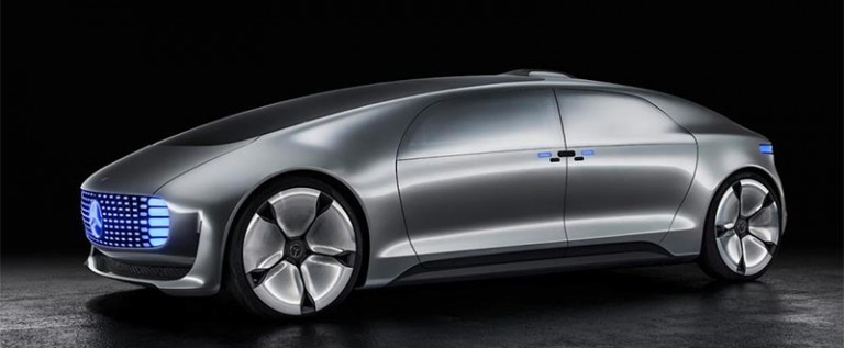Mercedes Benz Introduces F015 Luxury in Motion Concept Vehicle at CES 2015