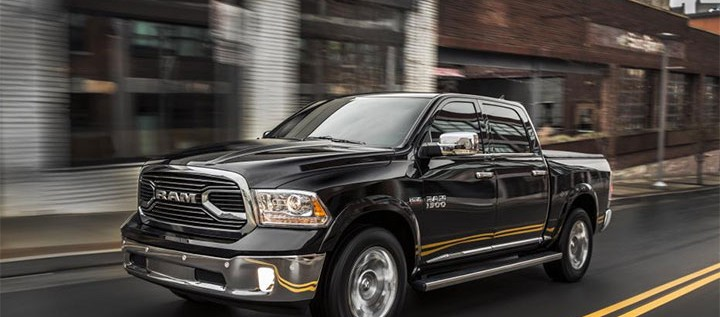 Chicago Auto Show Sees The Unveiling Of Ram Laramie Pickup Truck