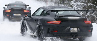 Porsche To Steal Show With GT3 RS