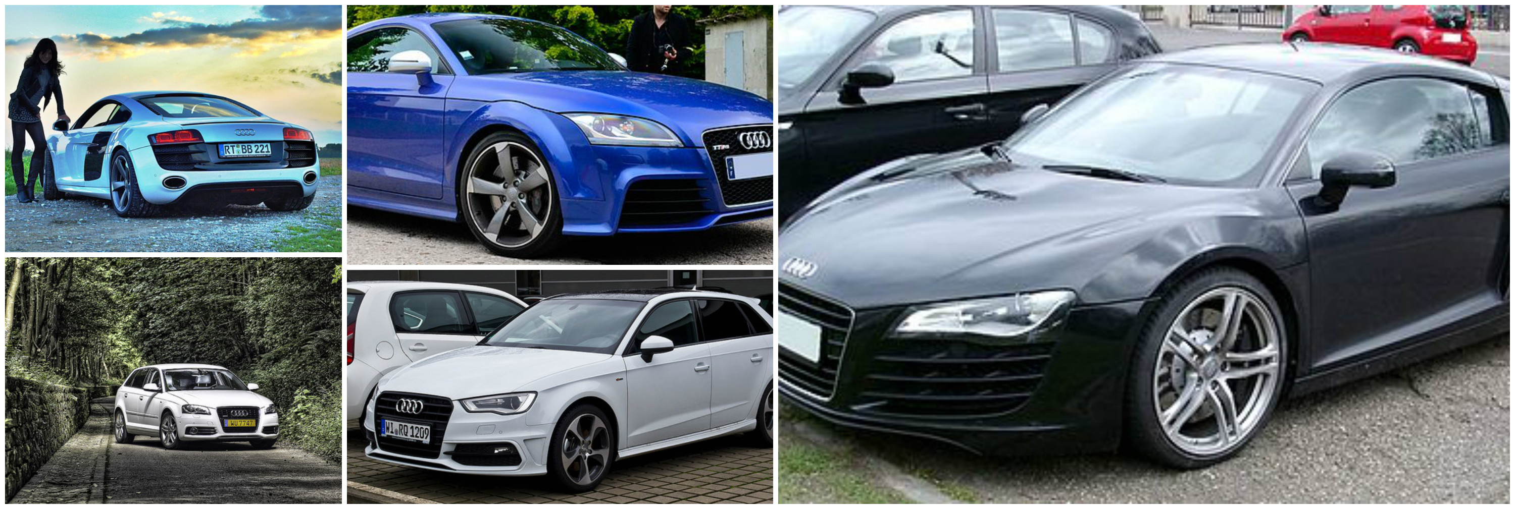 Past Present And Future The Best Of The Audi Range - Audi car range