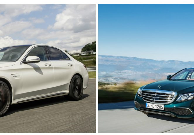Mercedes C-Class vs Mercedes E-Class: A Head to Head Comparison