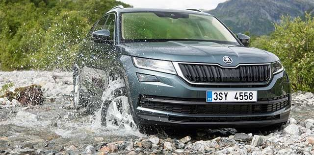 A class of its own. Introducing the first ever full size SUV from Skoda: Kodiaq