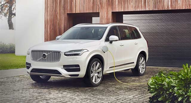 Country's first Ever Much awaited SUV – XC90 T8 Plug-in Hybrid from Volvo