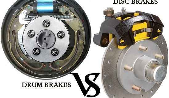 Why Disc brakes are preferred over Drum brakes