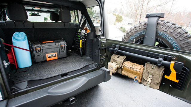 Make your Cargo space organized