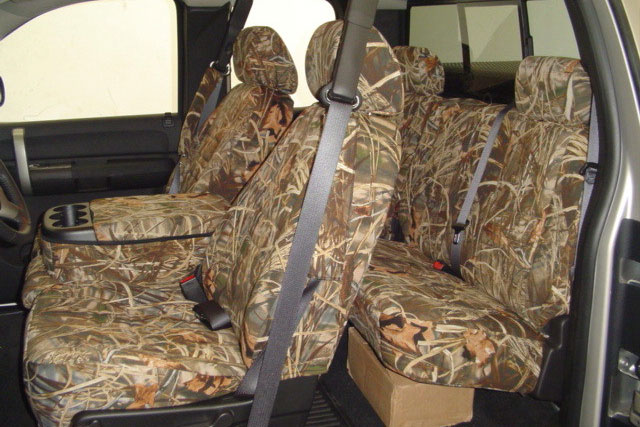 Unique Camouflage Seat Covers