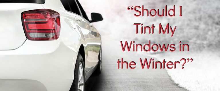 Good Reasons Why You Should Tint Your Windows